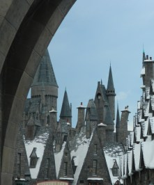 Snow-Capped Harry Potter Town
