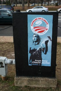 'Forward On Climate' Poster