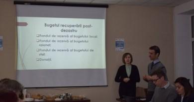 Evaluare colegială a managementului riscurilor de dezastre în Ungheni