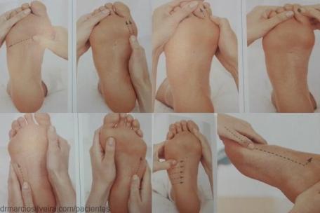 dor nos pés