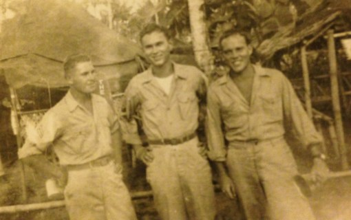 My Dad's on the right. Handsome devil.