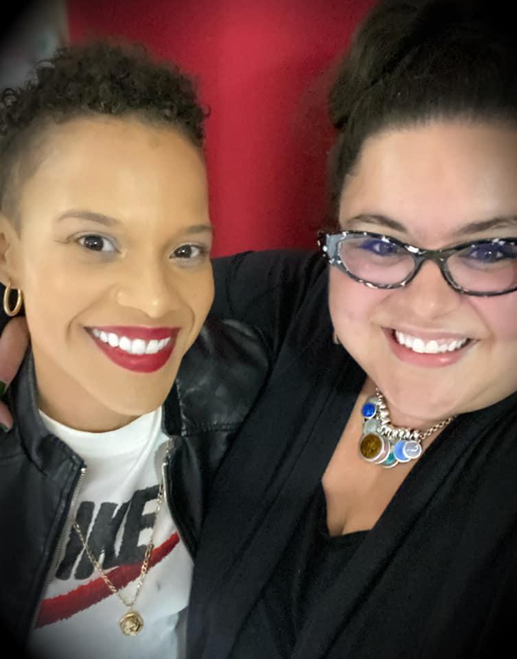 Dr. MC and Karina Beltre