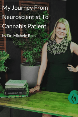 Dr. Michele Ross is teaching cannabis class at Green Flower Media