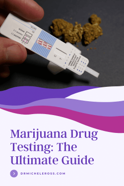 THC drug testing pee stick