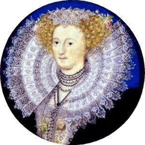 Portrait of Mary Sidney Herbert, circa 1590. Wikimedia.