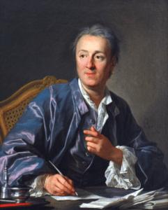 Diderot by Louis-Michel vanLoo, 1767.