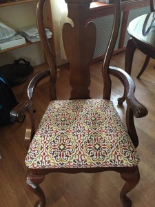 "an ""after"" chair"