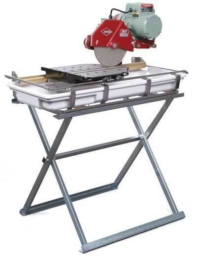 wet tile saw w stand 10 robinson