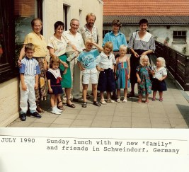 7.1990 our new German family Fulbright0001