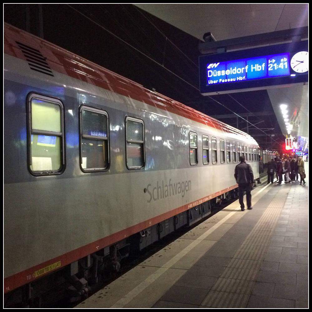 European rail trip, part 4: Overnight to Köln