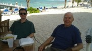 Igor and Nicholas Grand Cayman 2013