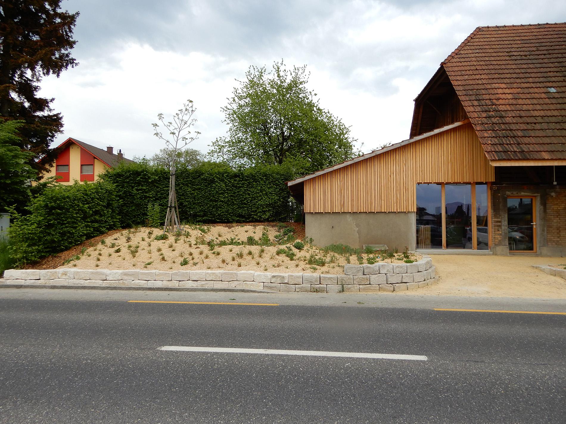Fassade Anbau