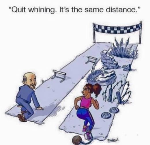 Przestań jęczeć, to ta sama droga.