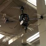 AirRobot bzw. Mikado-Drohne, Bildlizenz: Public Domain von padeluun