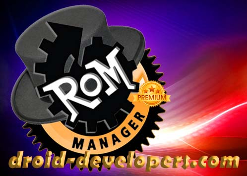 Android ROM Manager 5.5.3.7 by Clockwork Mod