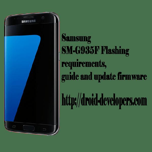 Samsung SM-G935F flashing requirements