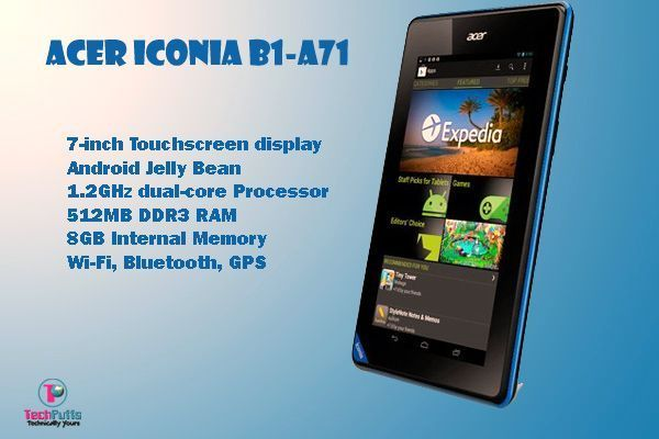 Acer Iconia Tab B1-A71 Stock Firmware And Flash Tools