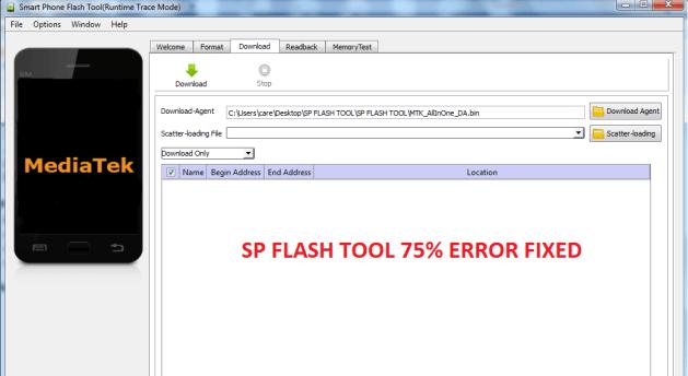 SP Flash Tools All Error