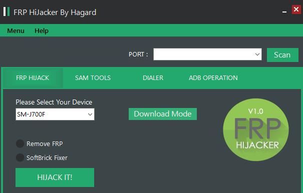 Hijacker FRP Tool 1Click FRP Remove