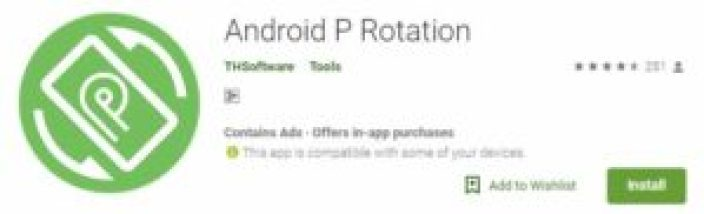 android p rotation app
