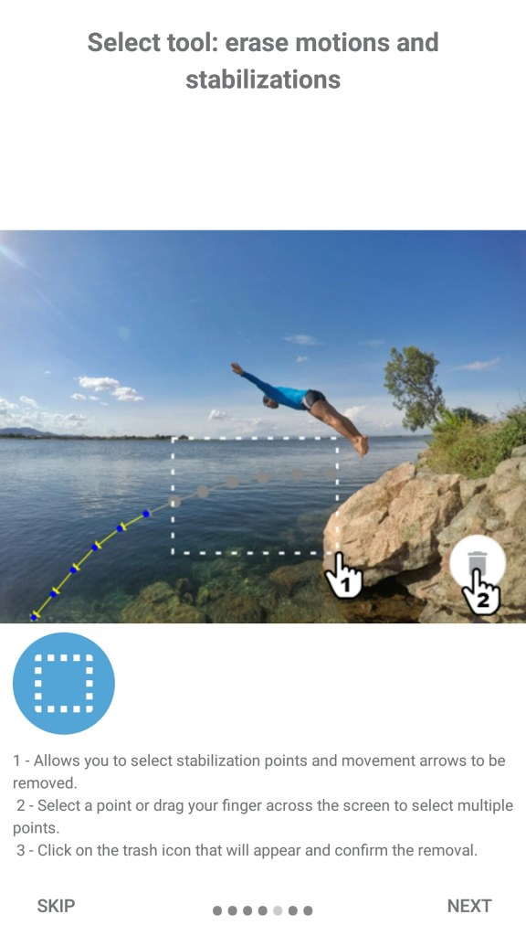 create awesome motion images droid crunch