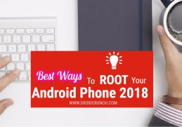 best ways to root android phone 2018