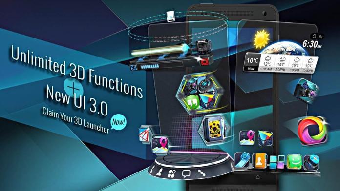 best 3d android launcher
