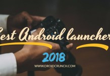 top 10 best android launchers 2018