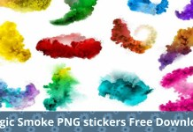 Magic Smoke Png stickers free download picstart