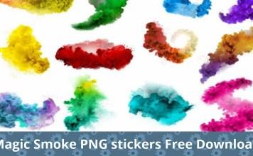 Magic Smoke Png stickers free download picstart