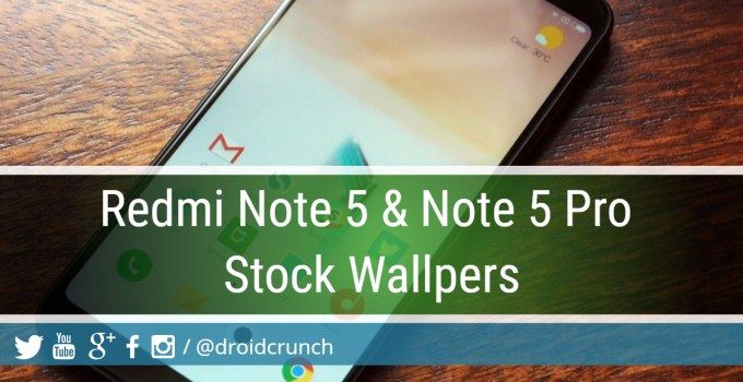 Redmi Note 5 Pro Stock Wallpapers Download (Free)