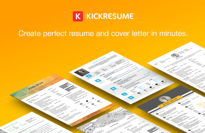 How To Make Online Resume with kickresume