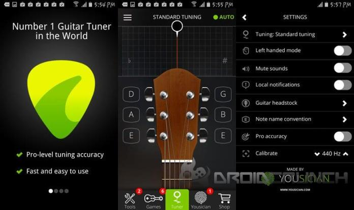 Guitar Tuner droidcrunch