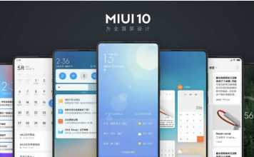 top MIUI 10 features