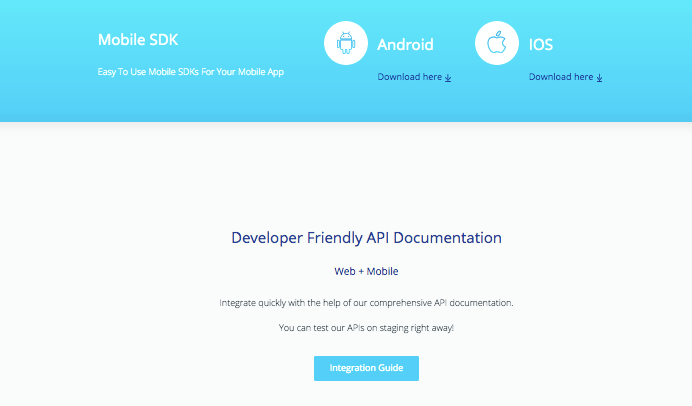 paytm sdk for mobile apps
