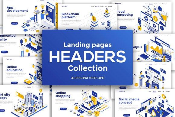 header designs for website
