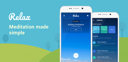 best meditation app for android relax calm and sleep
