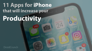 11 Apps for iPhone that will increase your productivity