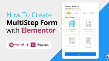 How To Create Multistep form using Elementor