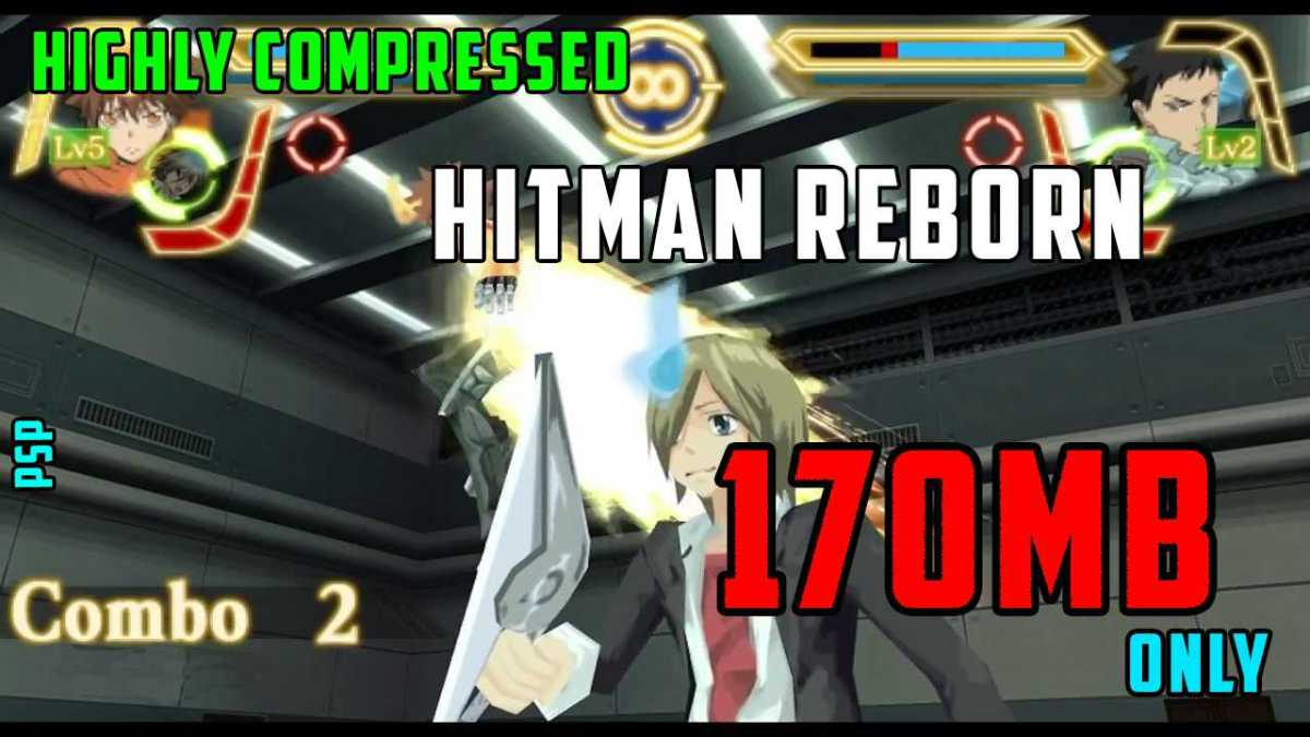 Download Hitman Reborn No Tag In Highly Compressed Size For Psp