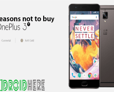 Reasons not to buy OnePlus 3T