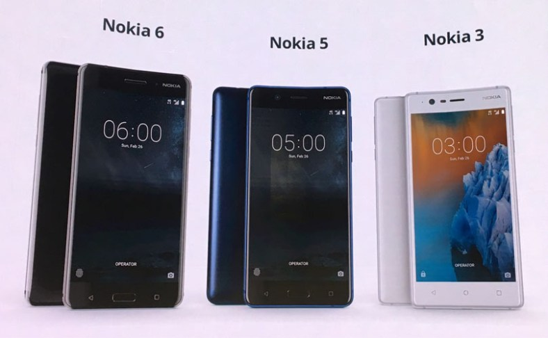 Nokia 6, 5 and 4 launching in India on June 13