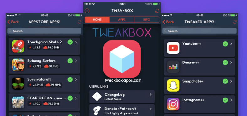 Download Free Apps on iOS with TweakBox - Droidhere