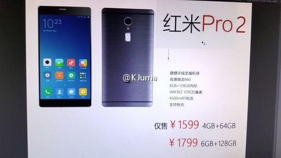 Xiaomi Redmi Pro 2 has leaked