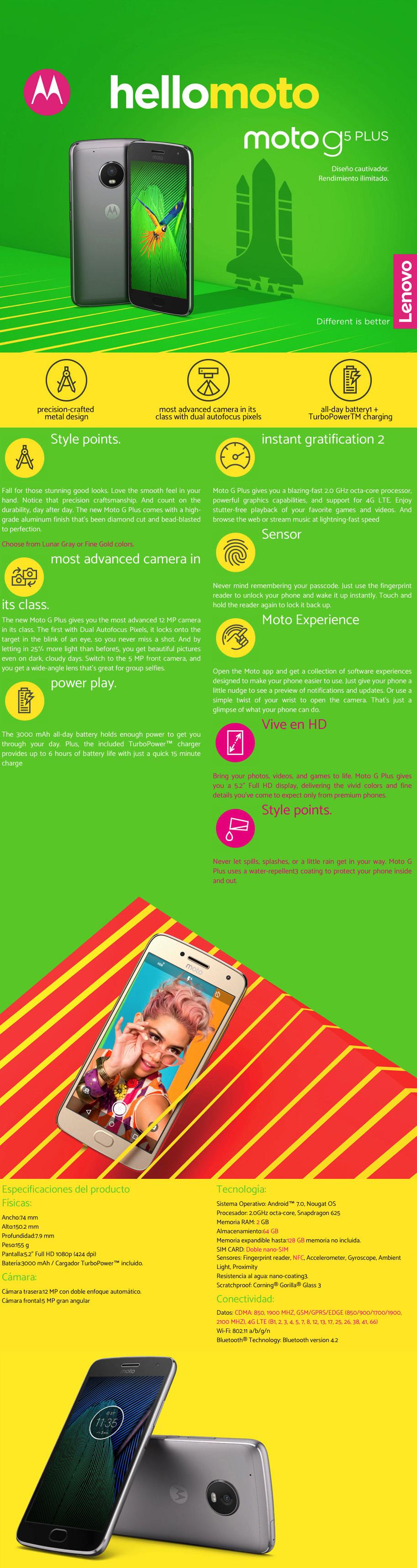 Moto G5 Plus Poster