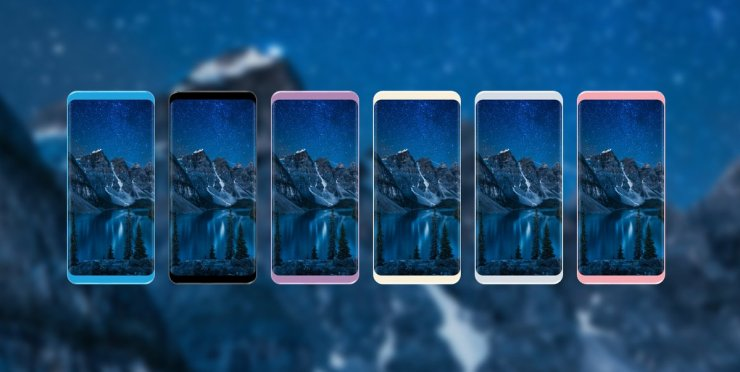 Samsung Galaxy S8 Color Options