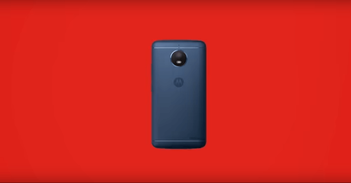 This is the Moto E4