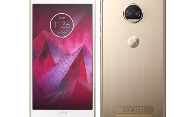 This is the Moto Z2 Force
