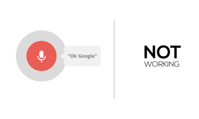 Fix for Ok Google Not working