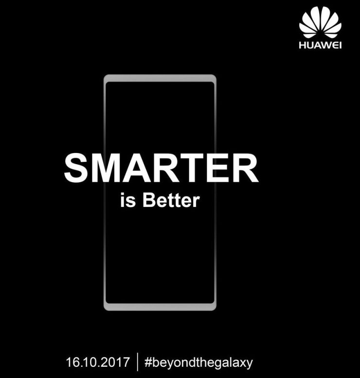 Huawei Mate 10 Official Teasers Reveal the final design & take a subtle dig at Samsung 2